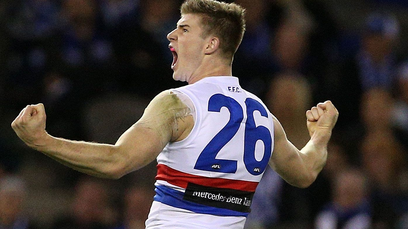 Dogs deal Roos' AFL finals hopes big blow