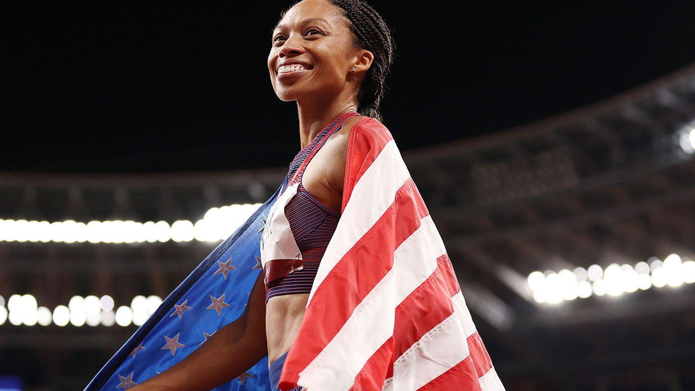 Allyson Felix has won her 10th Olympic medal.