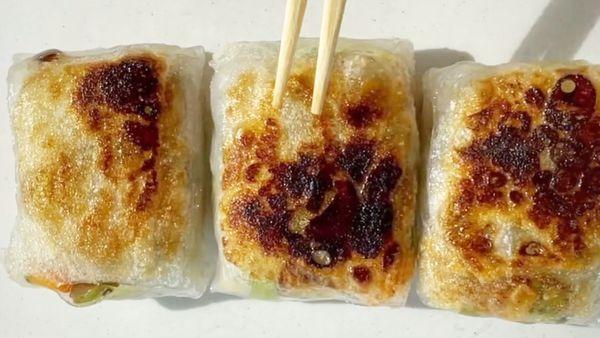 Video of crispy dumplings wows Tiktok