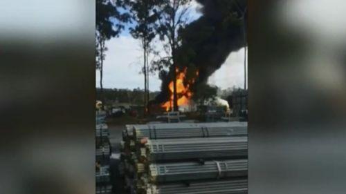 Man killed in Yatala oil factory explosion