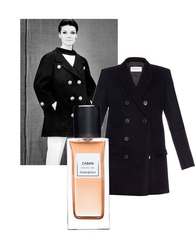 The Caban, named after the French term for a pea coat, is imagined as tonka beans with accents of sandalwood and vanilla.