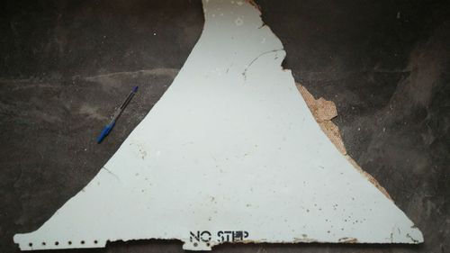 US man hunting for evidence of MH370 finds plane part