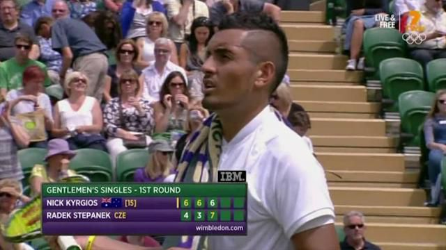 Kyrgios anoints Stepanek as future coach