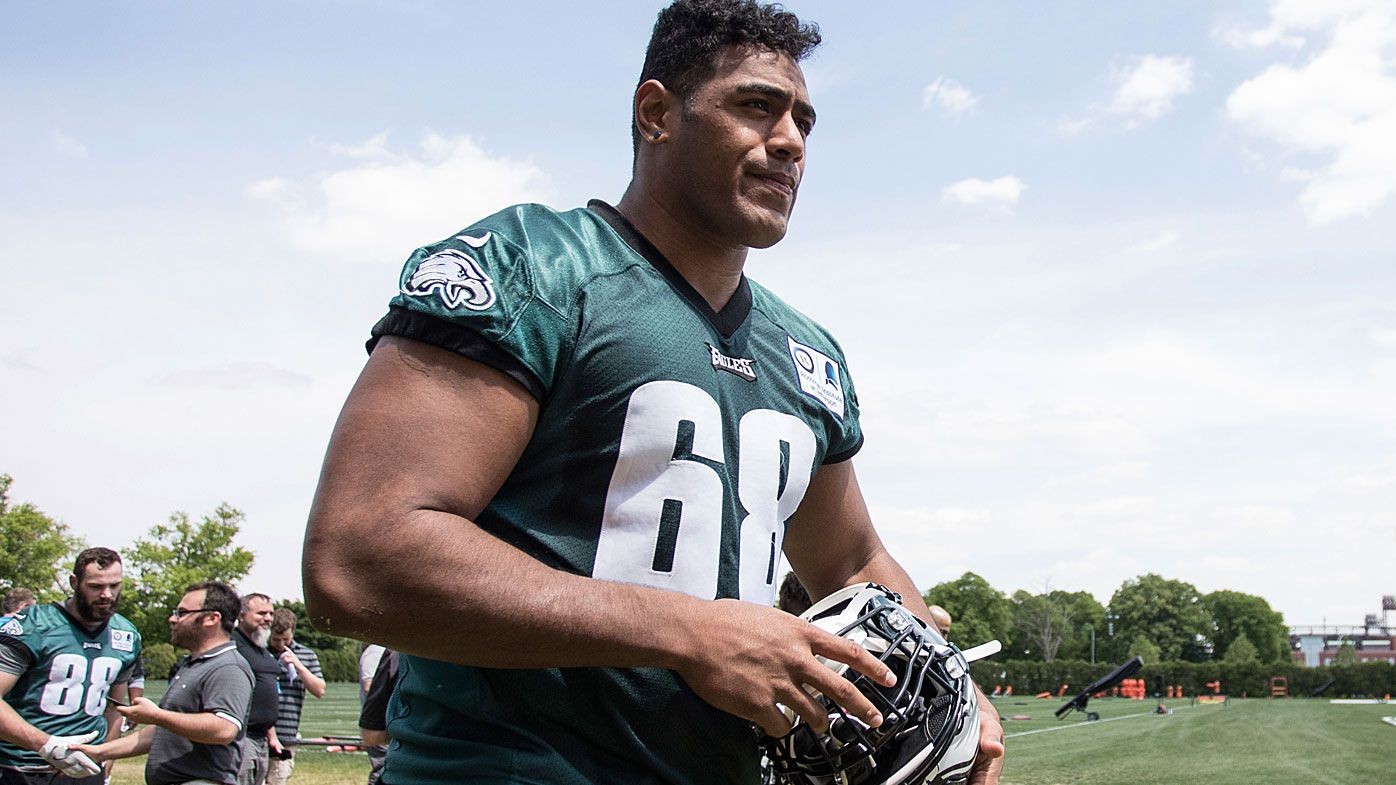 Retired Australian NFL star Jesse Williams gives warning to Philadelphia Eagles rookie Jordan Mailata