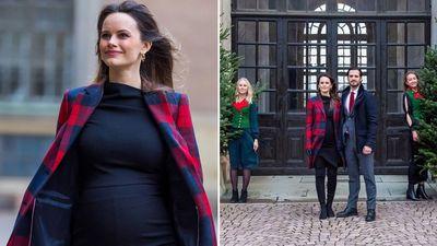 Princess Sofia's baby bump, December 2020