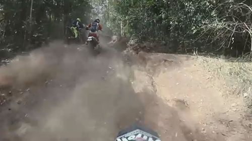 Carl's YouTube videos show him riding jetskis and trail bikes.