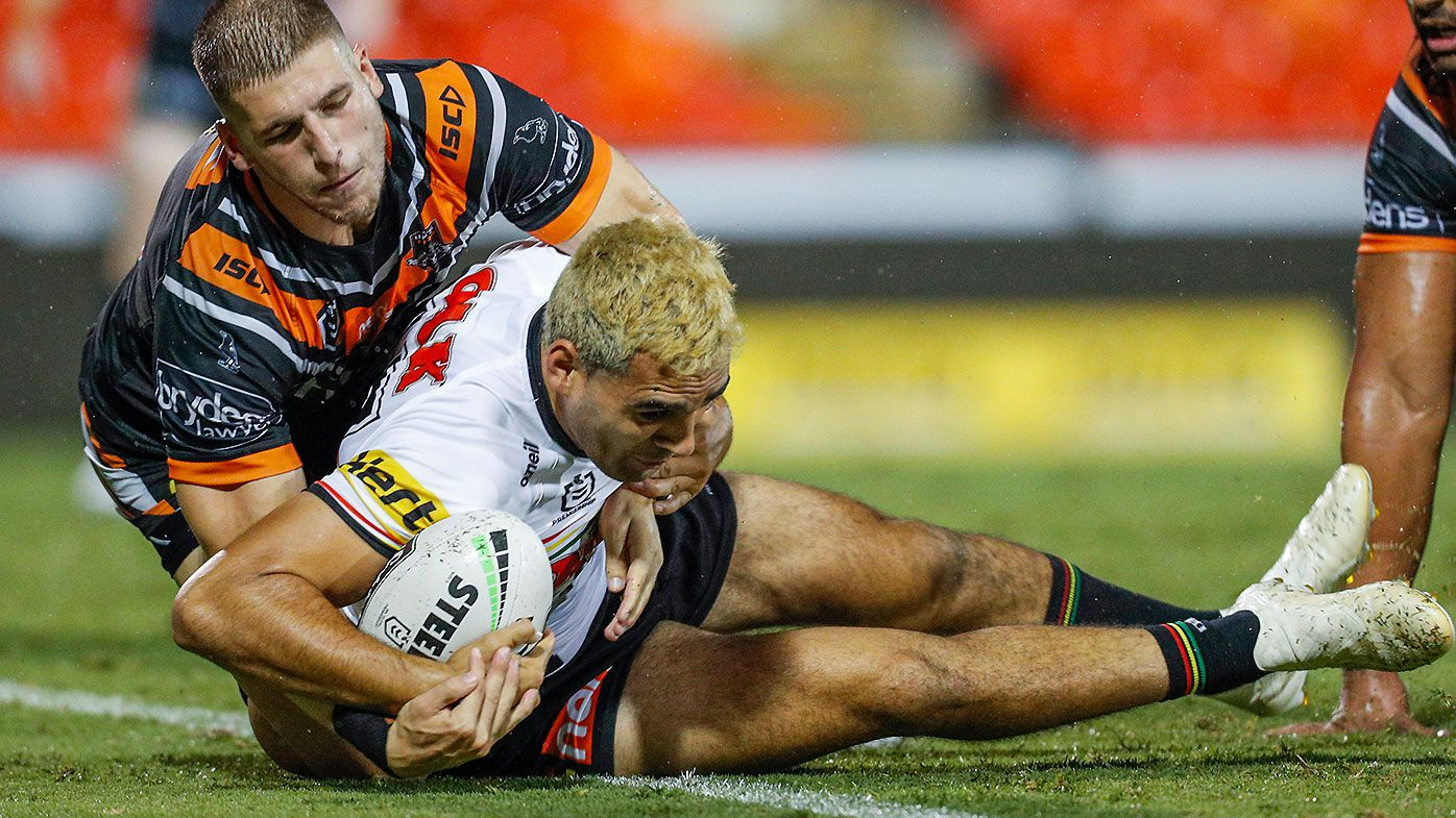 Tyrone May makes successful return to Penrith Panthers side in NRL trials win over Wests Tigers