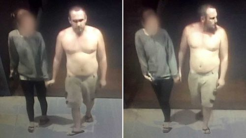 Police say this man deliberately coughed on a supermarket worker in regional NSW.