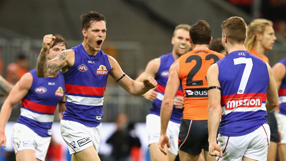 AFL: Bulldogs beat Giants for spot in AFL grand final