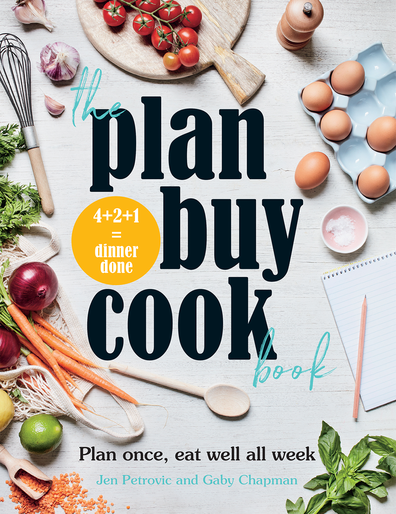 The Plan, Buy, Cook Book