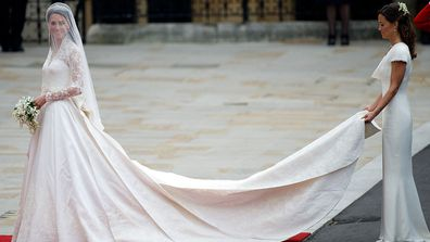 Kate Middleton S Second Wedding Dress Was Just As Beautiful 9honey