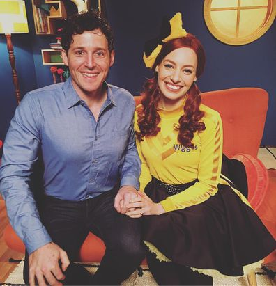 The Wiggles exes Emma Watkins and Lachy Gillespie make first