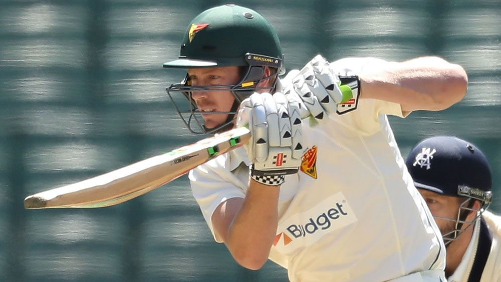James Faulkner and Tasmanis are hoping for a draw. (Getty Images)