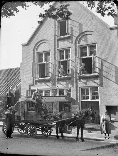 Bookstore in Bergen, North Holland, 1910