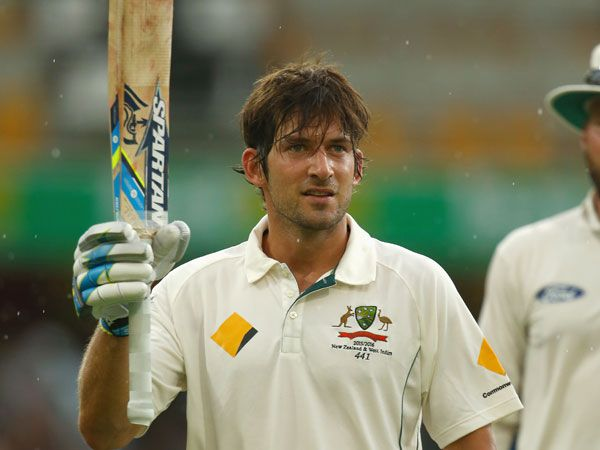 Burns notches maiden ton with a six