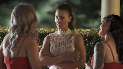 Tash's bridesmaids confront Amanda
