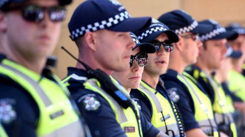 Victoria Police stock