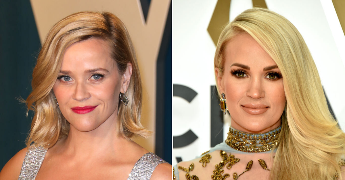 Reese Witherspoon says she was confused for Carrie Underwood by a woman in a car park