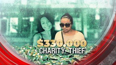 $330,000 charity thief