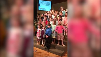 Girl's passionate singing goes viral