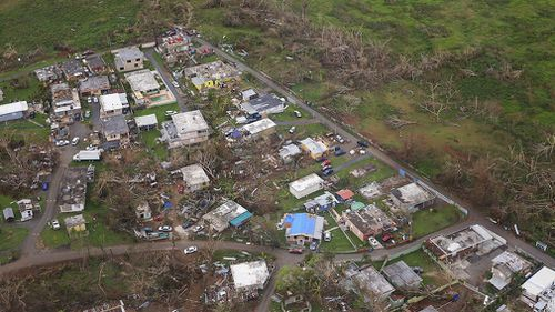 Millions of people in Puerto Rico are still without electricity and power. (AAP)