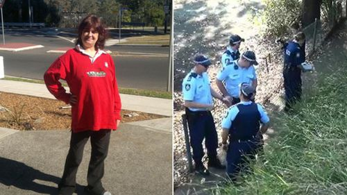 Deborah Spencer (left), died in hospital after she was found unconscious on a Sydney footpath. (9NEWS)