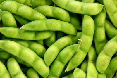 Soybeans: 60mg per 100g