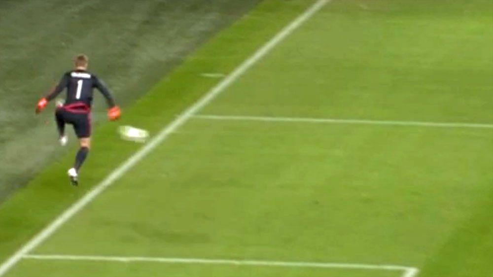 Football giants Ajax concede embarrassing goal