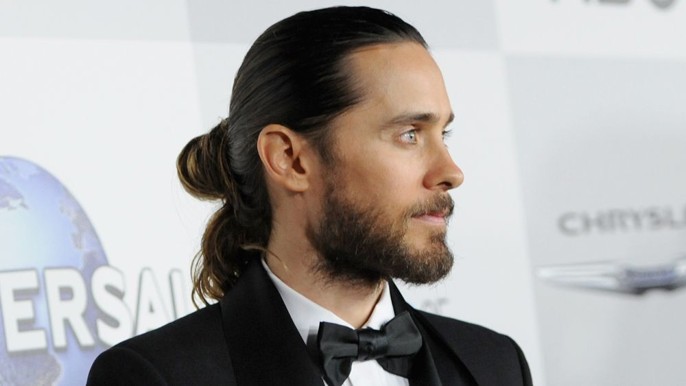 Clip in man buns are real and there's nothing you can do about it
