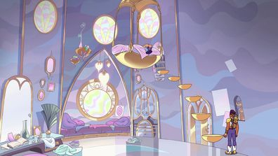 Glimmer's Bedroom (She-Ra and the Princesses of Power)