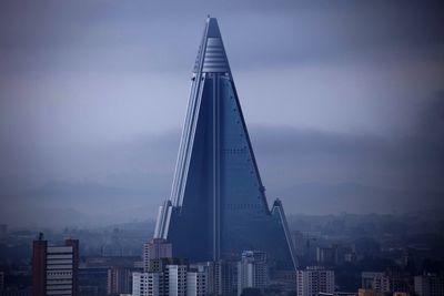 <strong>Ryugyong Hotel, Pyongyang, North Korea</strong>
