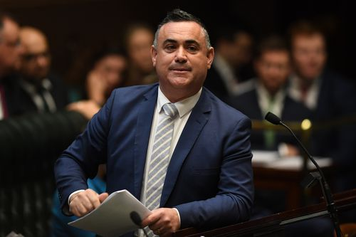 Deputy Premier John Barilaro today confirmed the delays, amid reports his boss had buckled to conservatives.