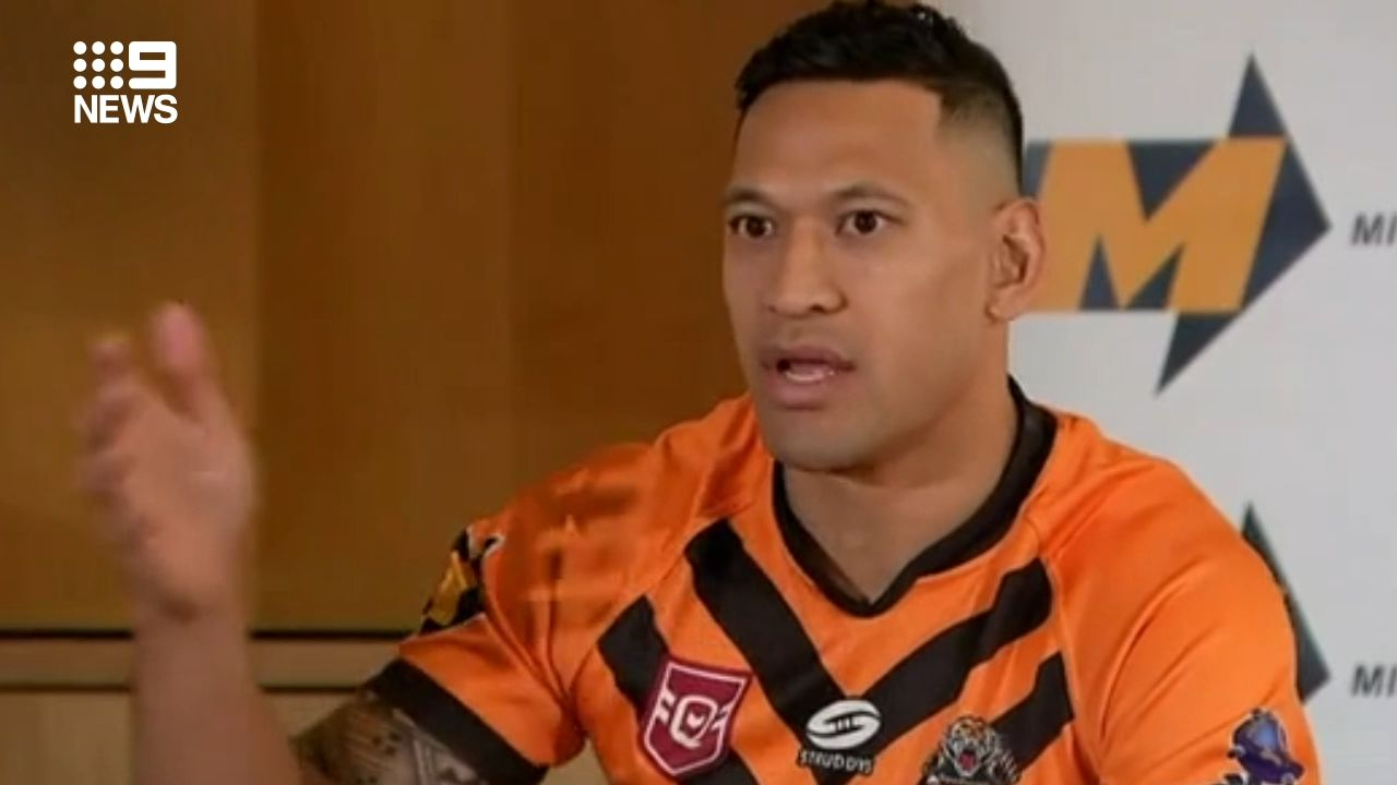 The Mole: Tony Williams to join Israel Folau at Southport Tigers
