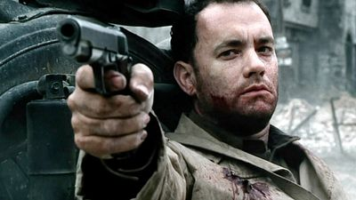 <p><em>Saving Private Ryan</em> (1999) – Hanks played Captain John H Miller, a US soldier tasked with recovering a MIA paratrooper during World War Two. The Steven Spielberg-directed American war epic won five Academy Awards.</p> <p>(Amblin Entertainment/Mutual Film Company/DreamWorks Pictures/Paramount Pictures)</p>