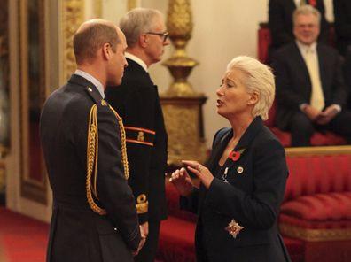 Emma Thompson dame title Prince William