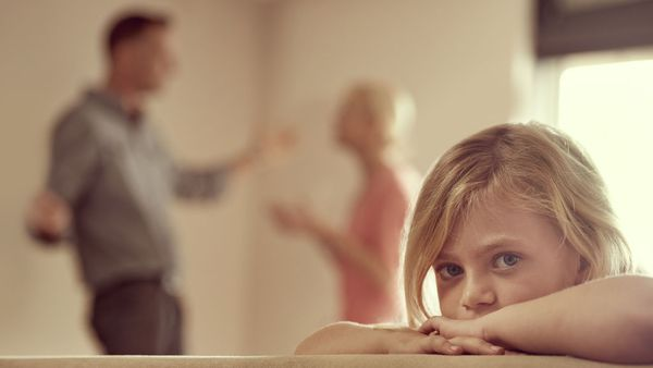 It's the simple truth - if parents can get along, it's better for kids. Image: Getty.