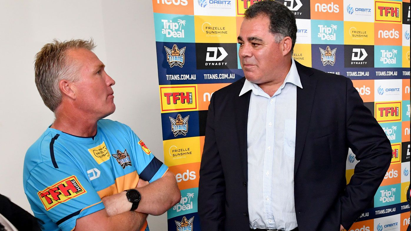 'His next nine weeks will be interesting': Darren Lockyer refuses to rule out Meninga for Titans top job