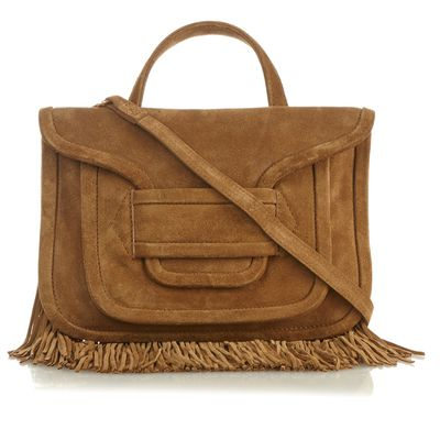 "<a href=""http://www.matchesfashion.com/au/products/Pierre-Hardy-Alpha-Twin-fringe-trimmed-suede-cross-body-bag-1035969"" target=""_blank"">Pierre Hardy Alpha Fringe-Trimmed Bag, $903</a>"