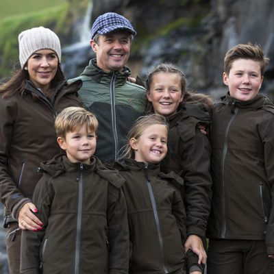 Crown Princess Mary and family snuggle up in the Faroe Islands, August 24
