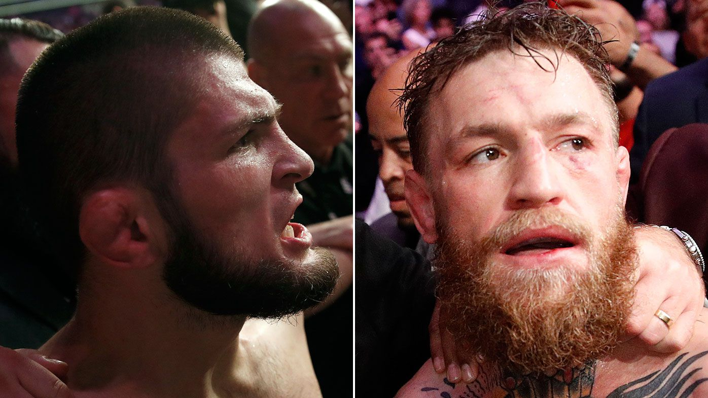 Khabib Nurmagomedov taunts Conor McGregor with brutal GIF of submission win