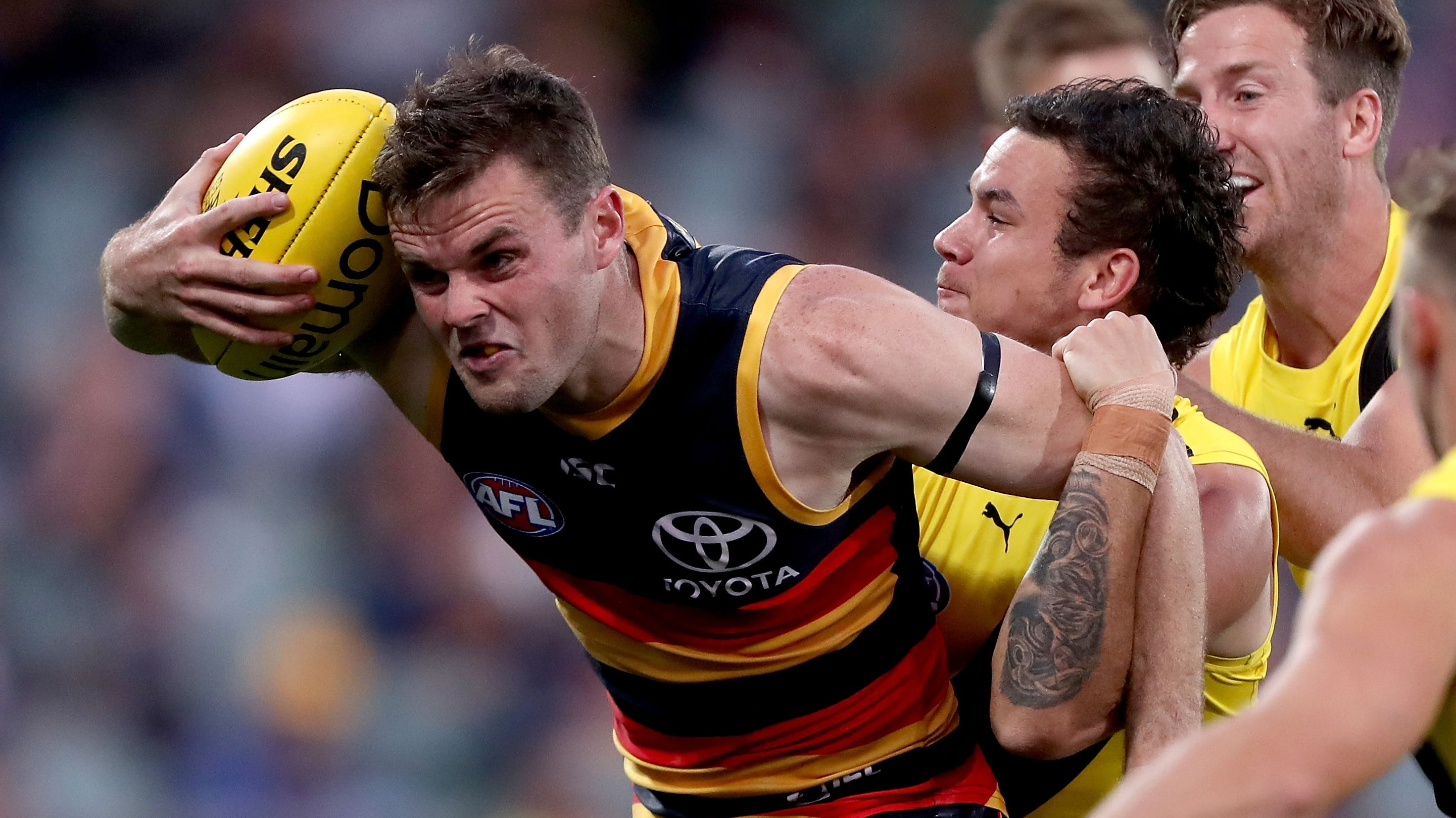 Adelaide Crows star Brad Crouch
