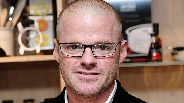 Chef Heston Blumenthal