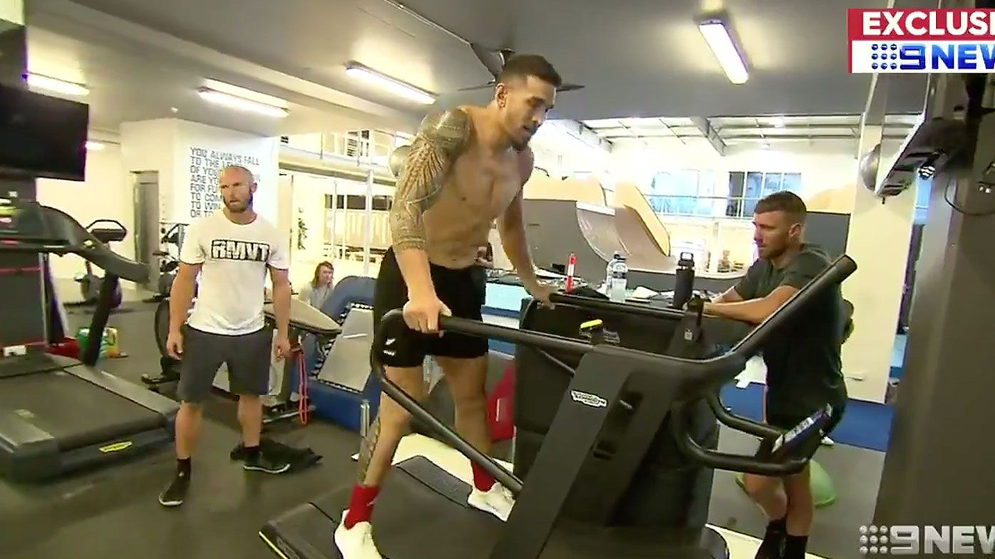 Inside the intensive training camp of Sonny Bill Williams