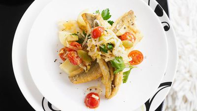 """<a href=""""http://kitchen.nine.com.au/2016/05/16/13/49/panfried-whiting-with-leek-tomato-and-olive-salsa"""" target=""""_top"""">Pan-fried whiting with leek, tomato and olive salsa<br> </a>"""