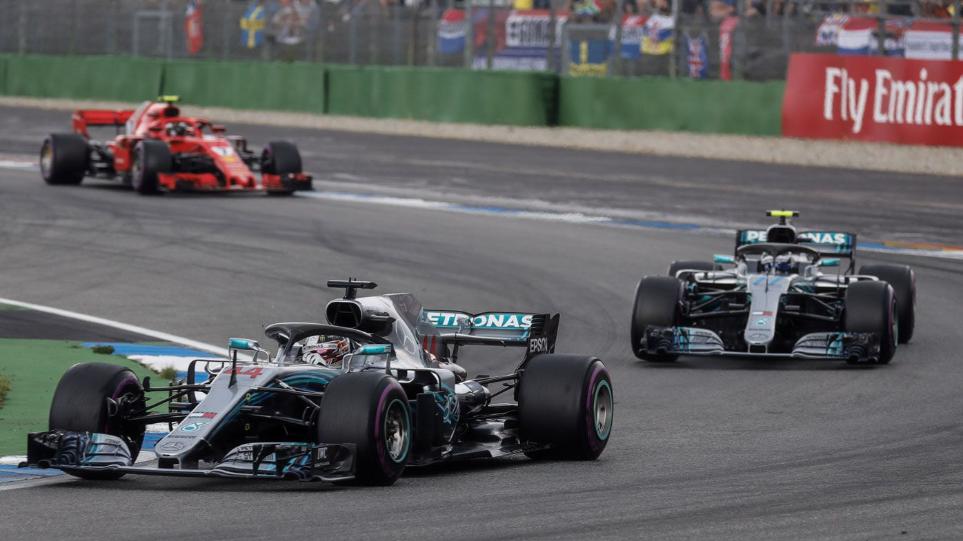 Mercedes' Lewis Hamilton keeps German Grand Prix win after stewards' probe