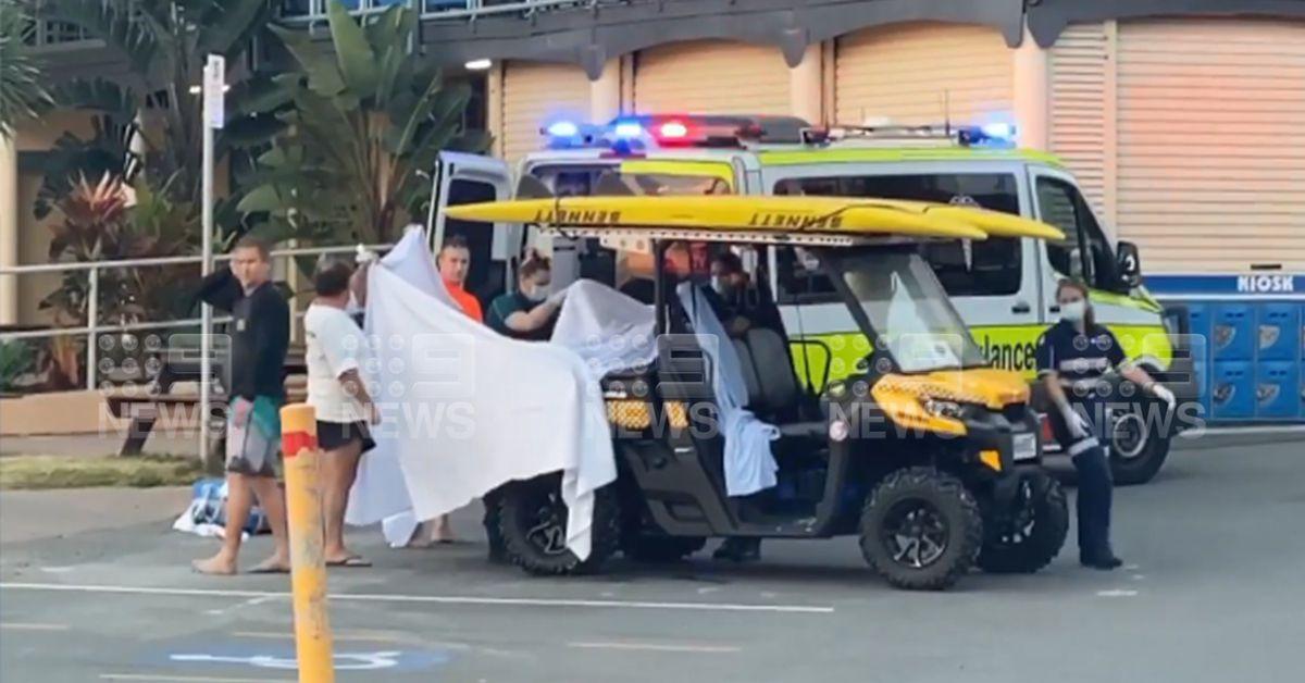 Man dies after shark attack off Greenmount Beach in Coolangatta – 9News