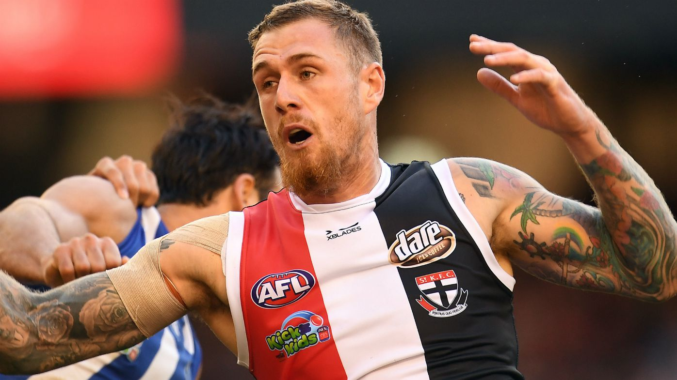 St Kilda forward Tim Membrey comes up with miss of the season