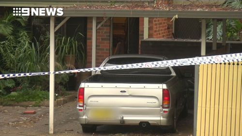 Police are reportedly investigating if the woman was shot with a crossbow. (9NEWS)