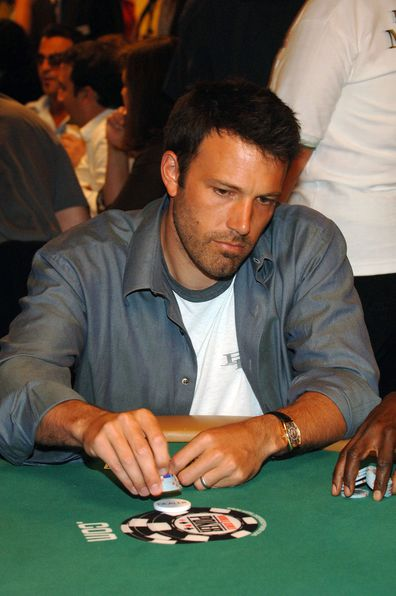 Ben Affleck, charity poker tournament, Las Vegas