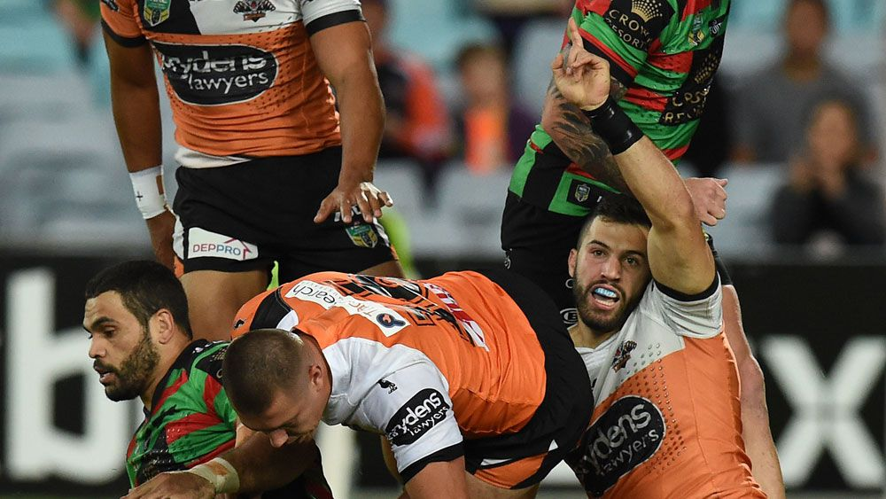 Tigers snap six game NRL losing streak